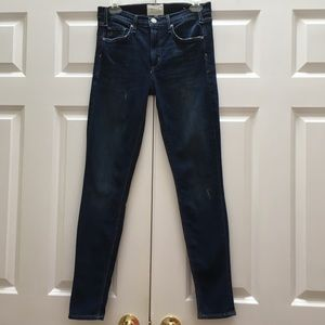 McGuire Skinny High Rise Jeans Distressed 29